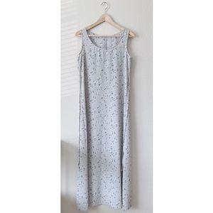 NEW Vintage 90's Floral Print Slip Dress